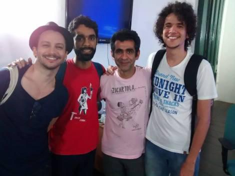 Bruno Guimarães, Ramon Coutinho, Hilton Lacerda e Marcus Curvelo