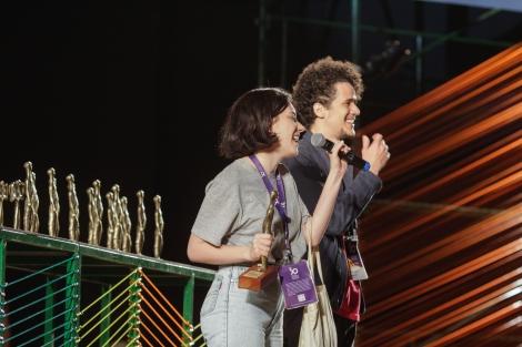 Amanda Devulsky e Marcus Curvelo_Melhor Montagem 50º Festival de Brasília do Cinema Brasileiro