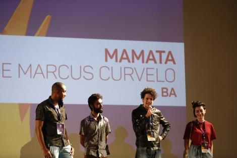 Danilo Umbelino, Ramon Coutinho, Marcus Curvelo e Amanda Devulsky - 50º Festival de Brasília do Cinema Brasileiro